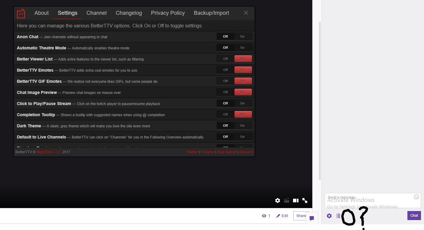 BTTV Emote Menu not showing - BetterTTV - NightDev Community